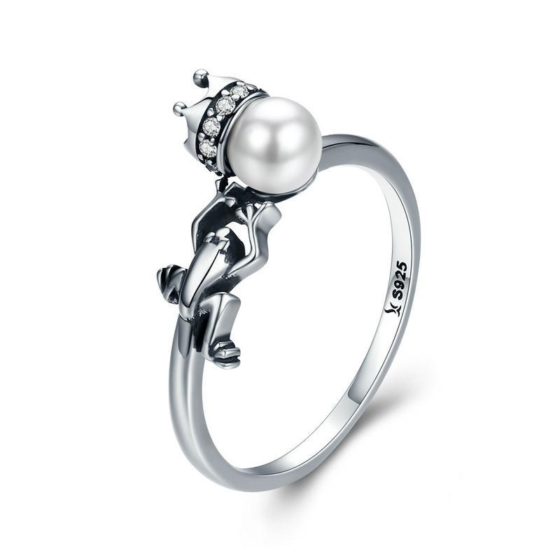 Penelope's Princess and the Frog Pearl Promise Ring