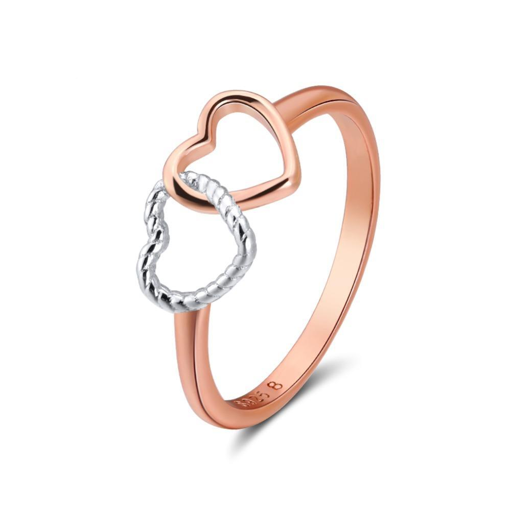 Penelope's Intertwined Hearts Promise Ring