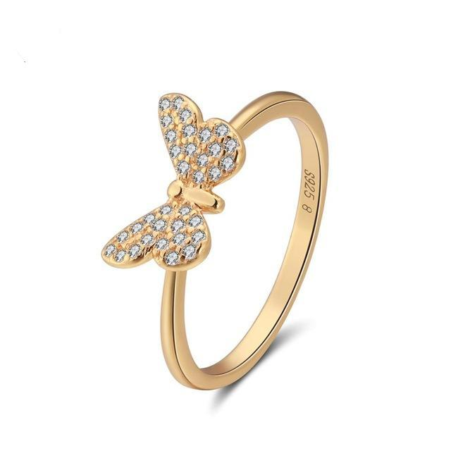Penelope's Glamorous Butterfly Promise Ring