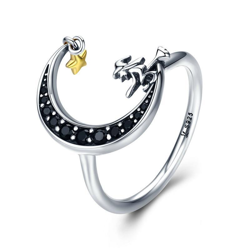 Penelope's Witch and Moon Ring