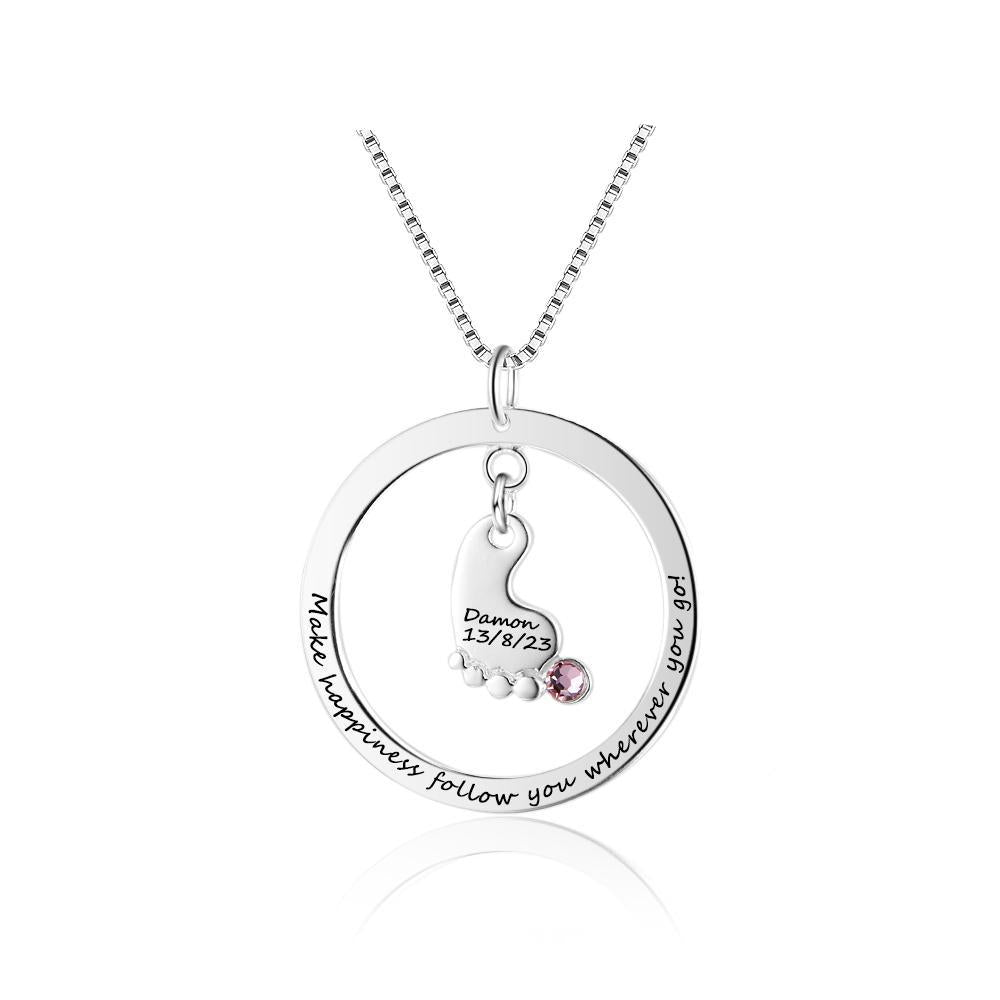 Penelope's Unforgettable Moments Custom Engrave Name Necklace