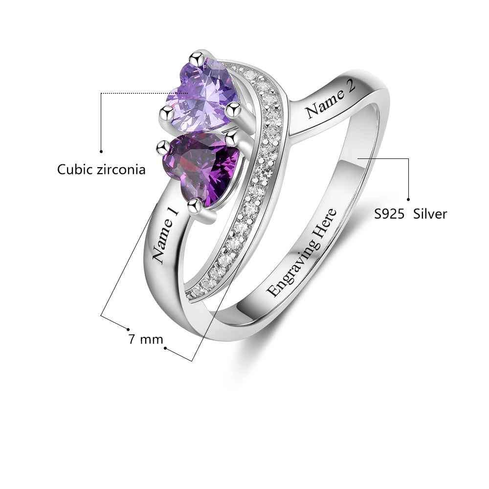 Penelope's Forever Faithful Custom Promise Ring
