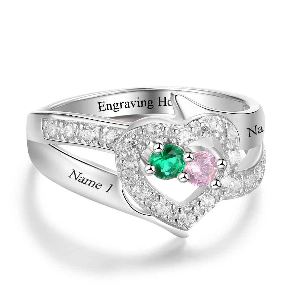 Penelope's Cheerful Heart Promise Ring