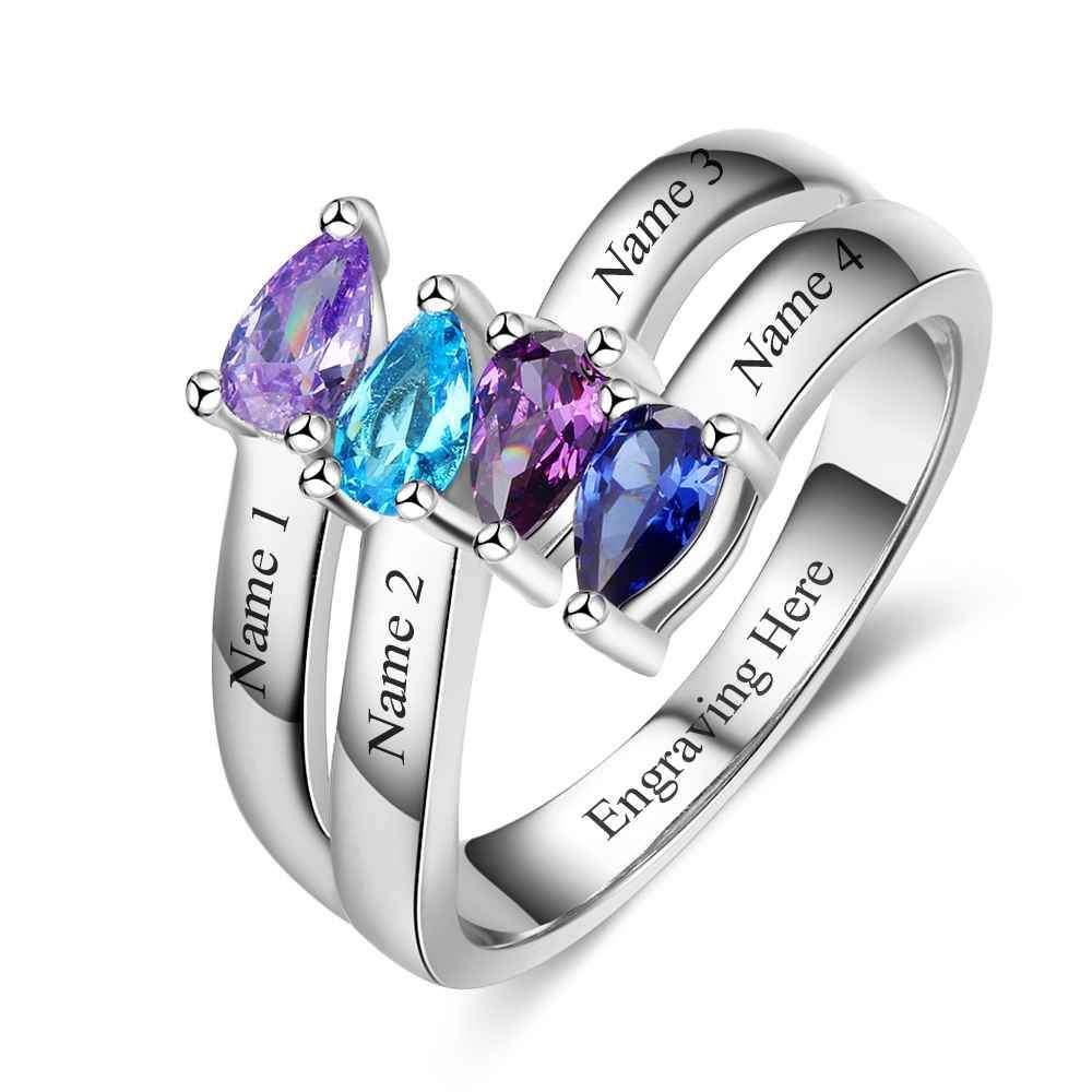 Penelope's Unchanging Love Custom Promise Ring
