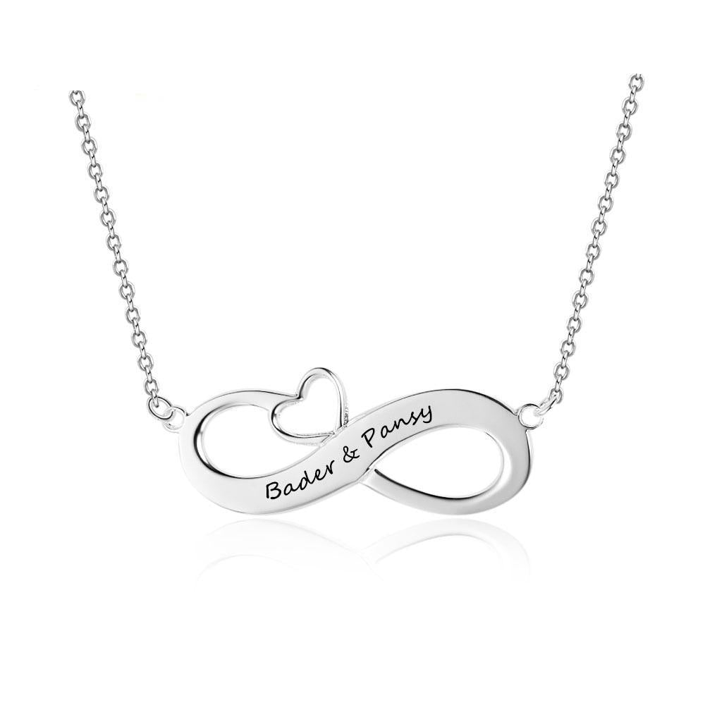 Penelope I Will Love You Forever Custom Engrave Name Necklace