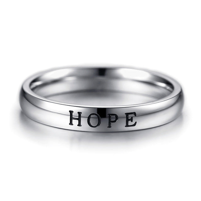 Penelope's HOPE FAITH LOVE Purity Ring