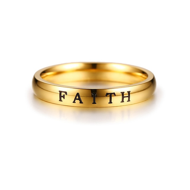 Penelope's HOPE FAITH LOVE Christian Ring