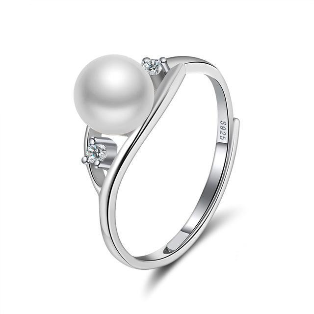 Penelope's Magnificent Pearls Promise Ring