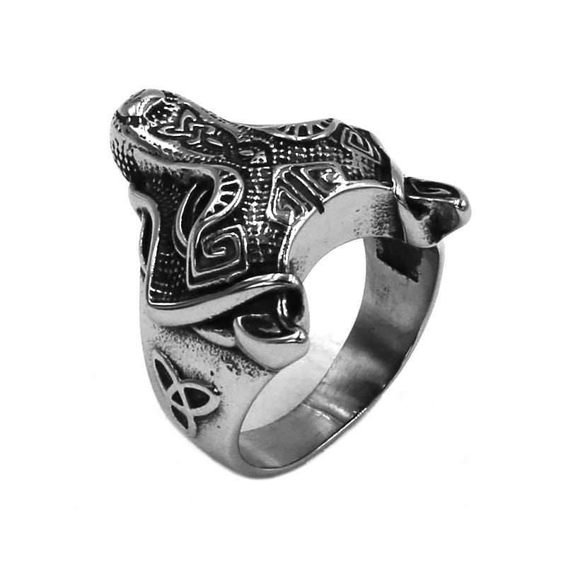 Penelope's Wolf Celtic knot Ring