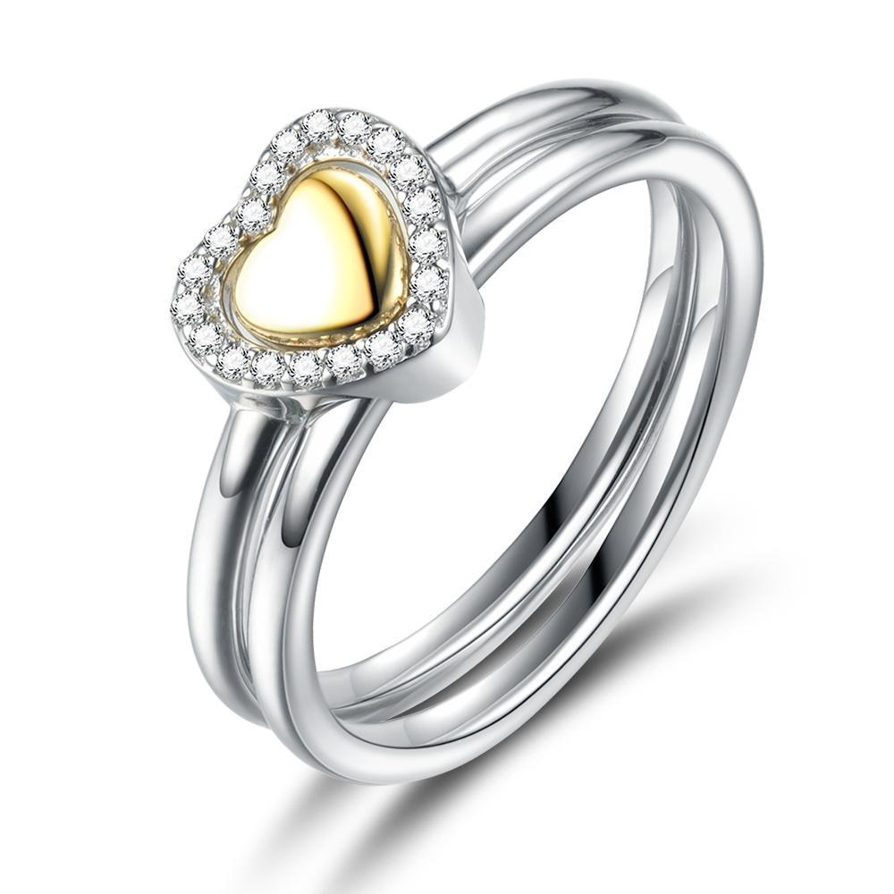 Penelope's Heart Of Gold Purity Ring