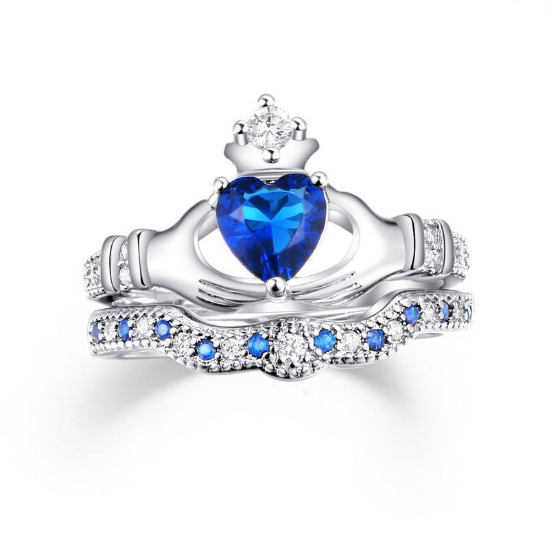 Penelope's Exquisite Love Claddagh Ring