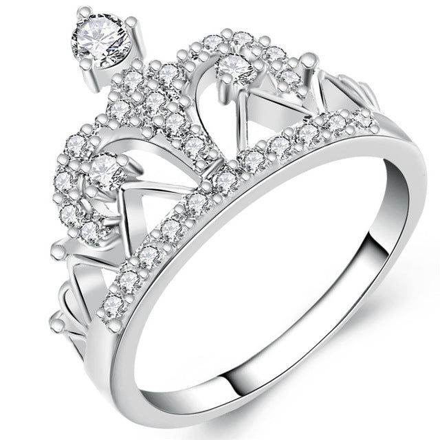 Majestic Crown Ring