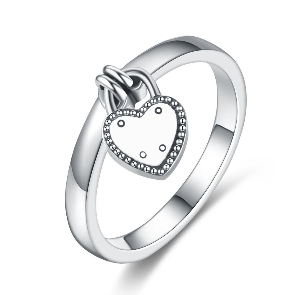 Penelope's Heart Lock Purity Ring
