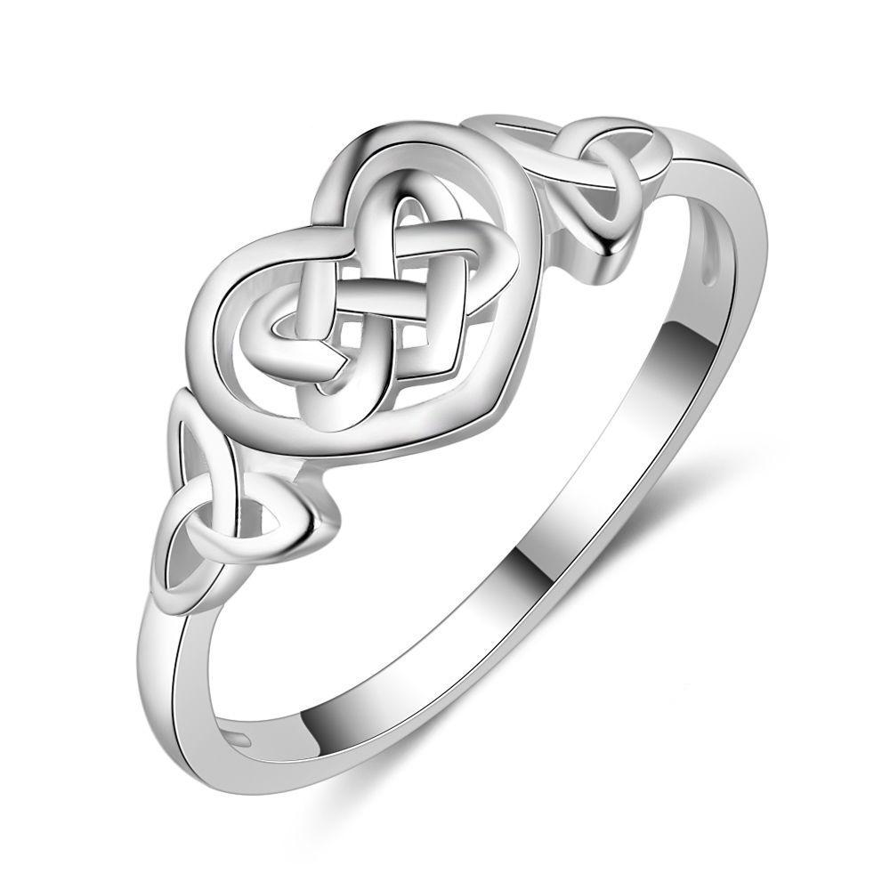 Penelope's Heart Celtic Knot Ring