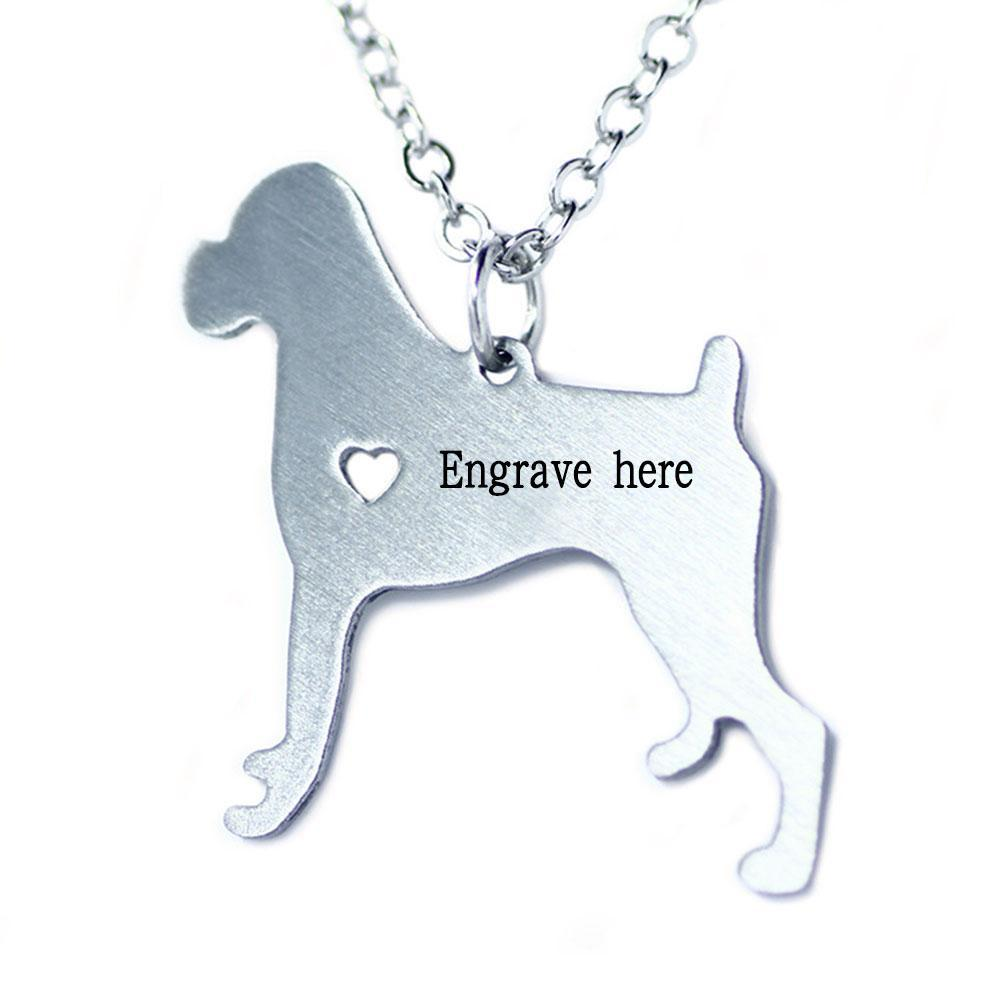 Penelope's Personalized Dog Name Necklace