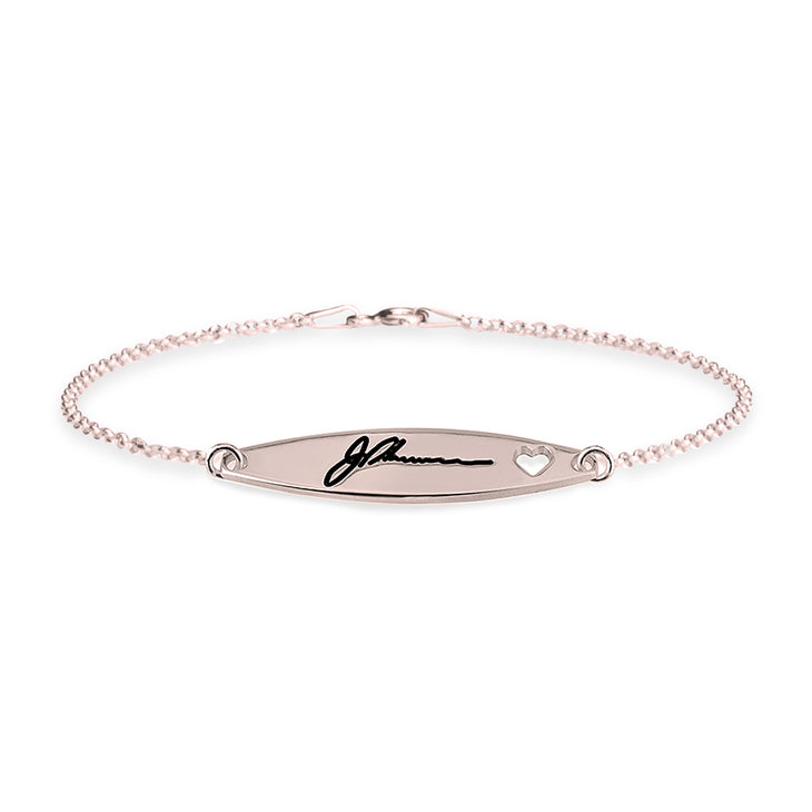 Signature Bracelet with Heart