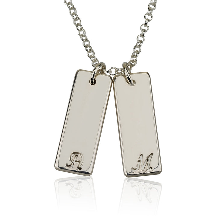 Couple Bar Necklace