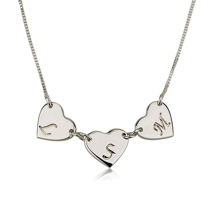 Linked Hearts Necklace