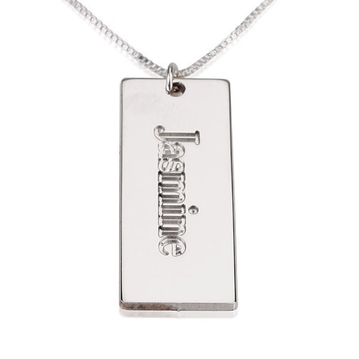 Mini Dog Tag Necklace
