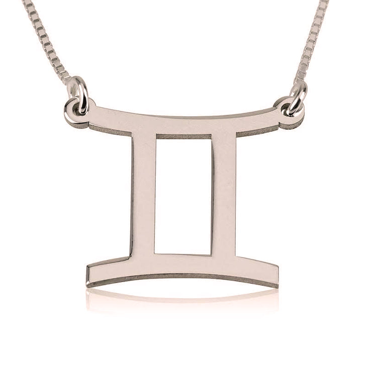 Gemini Zodiac Necklace