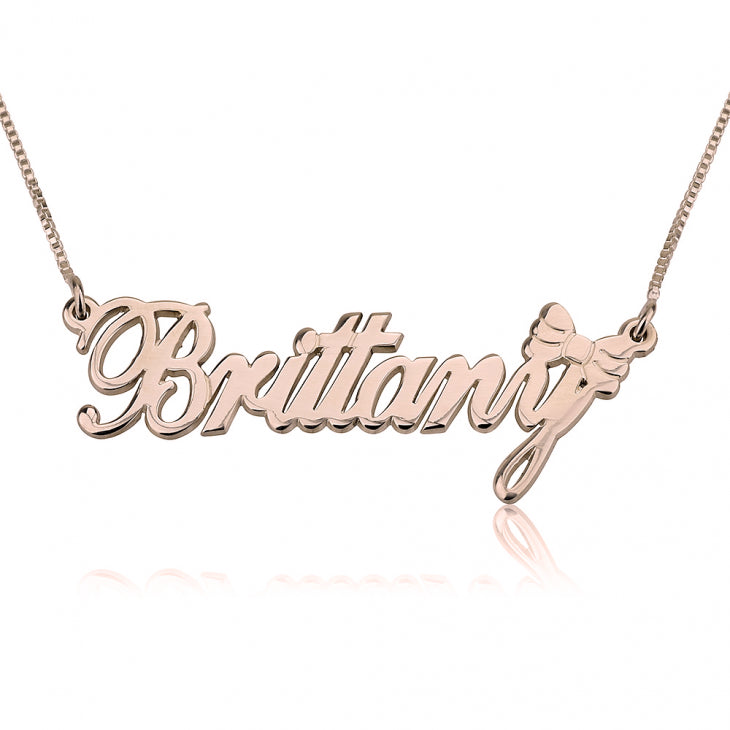 Classic Name Necklace with Symbol