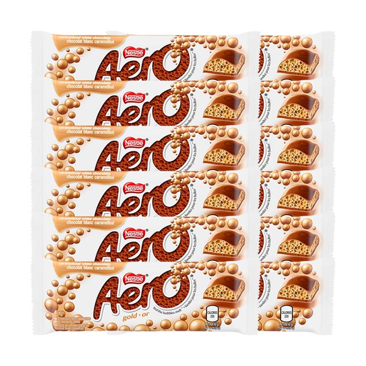 Nestle Aero Gold Chocolate 42g/1.4 oz Bar