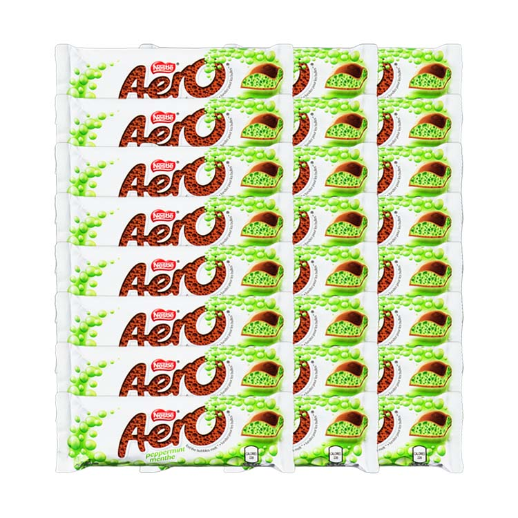 Nestle Aero Peppermint Chocolate 41g/1.4oz Bar