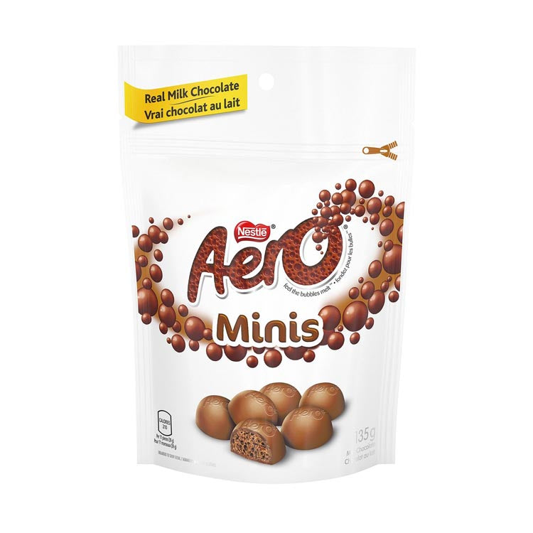Nestle Aero Minis Bite Size Chocolate 135g/4.8oz Bag