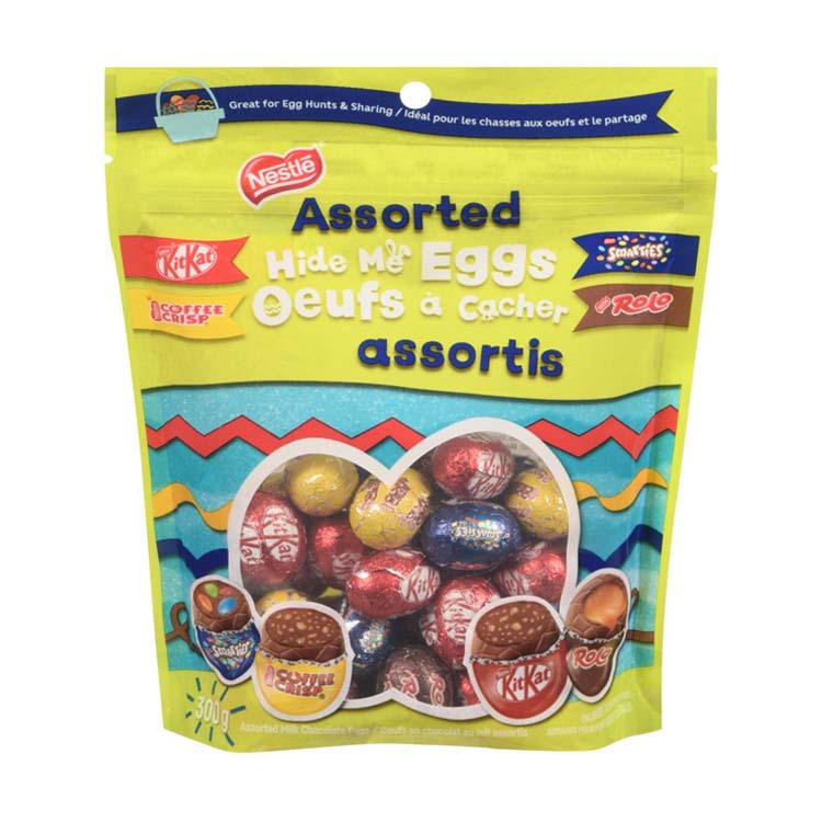 Nestle Assorted Hide Me Eggs Easter Chocolate 300g/10.5 oz Bag