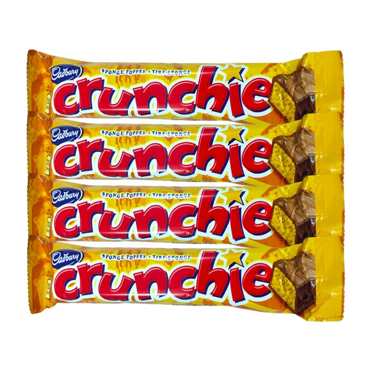Cadbury Crunchie Chocolate 44g/1.6oz Bar
