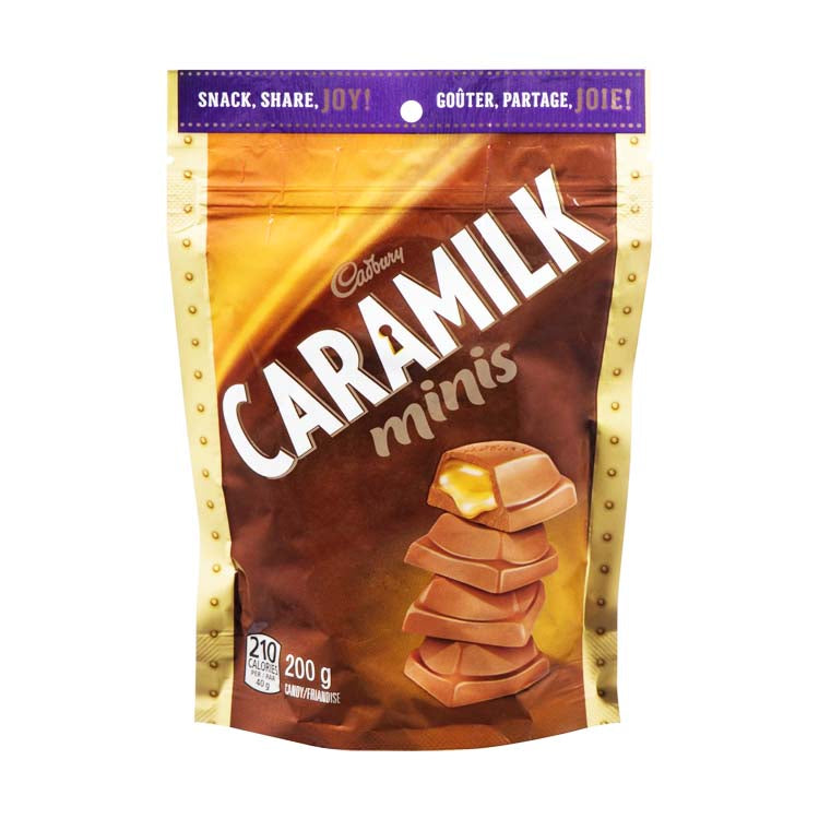 Cadbury Caramilk Minis Chocolate 200g/7oz Bag