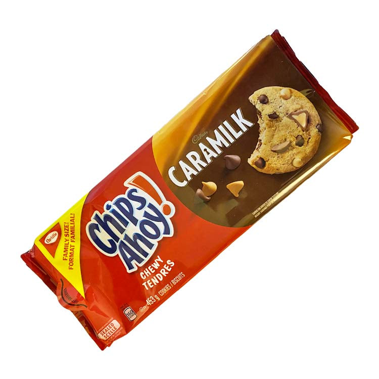 Chips Ahoy! Chewy Caramilk Cookies 453g/15.9 oz Package