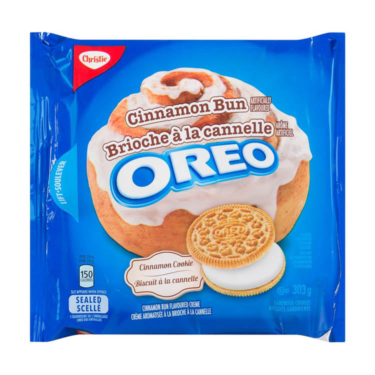 Christie Oreo Cinnamon Bun Cookies 303g/10.7oz Pack