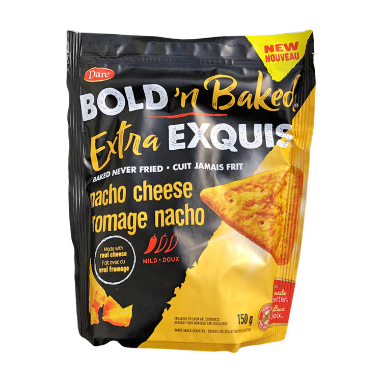 Dare Bold N Baked Extra Exquis Nacho Cheese Chips 150g/5.2oz Bag
