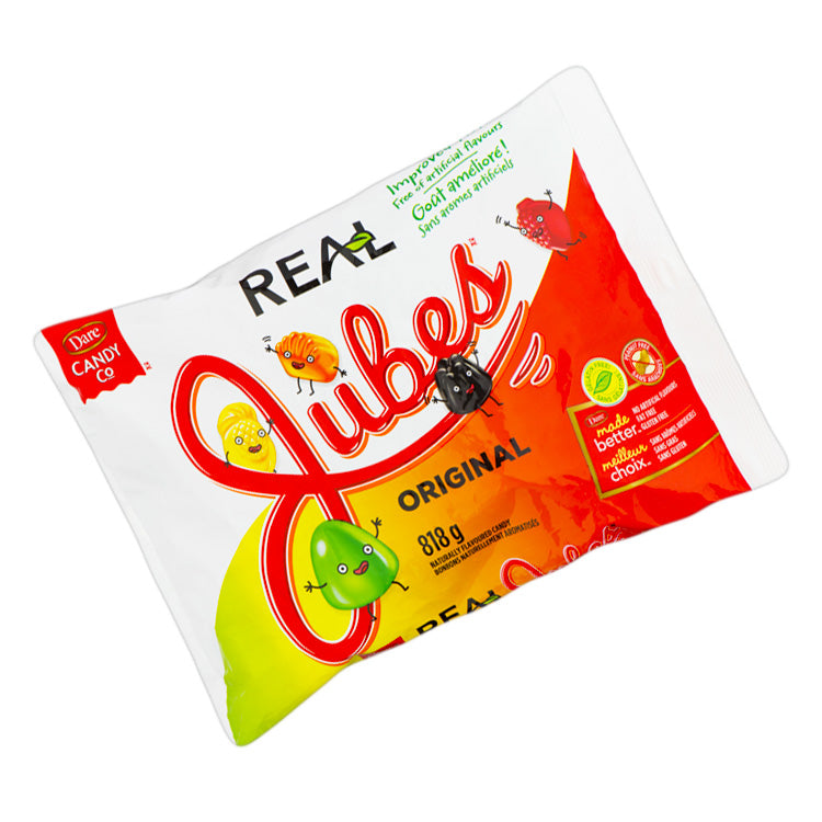 Dare Real Original Ju Jubes Gummy Candies 818g/28.9oz Bag