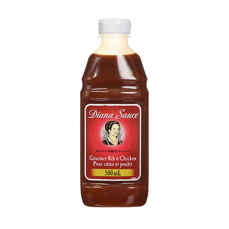 Diana BBQ Sauce Gourmet Rib & Chicken 500mL/16.9oz Bottle