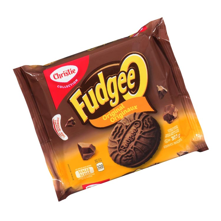 Christie Fudgee-O Original Cookies 303g/10.6oz Package