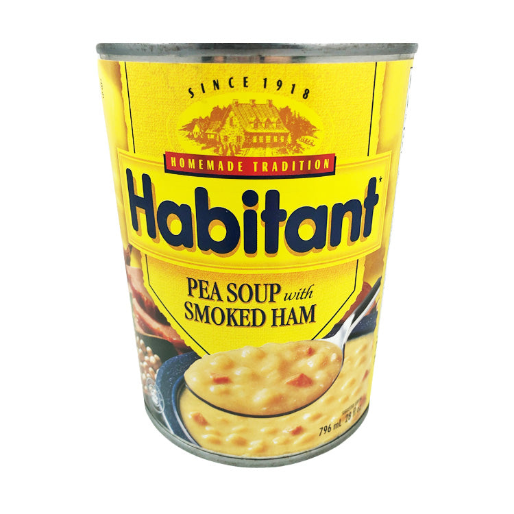Habitant Pea Soup With Smoked Ham 796mL/27oz Can