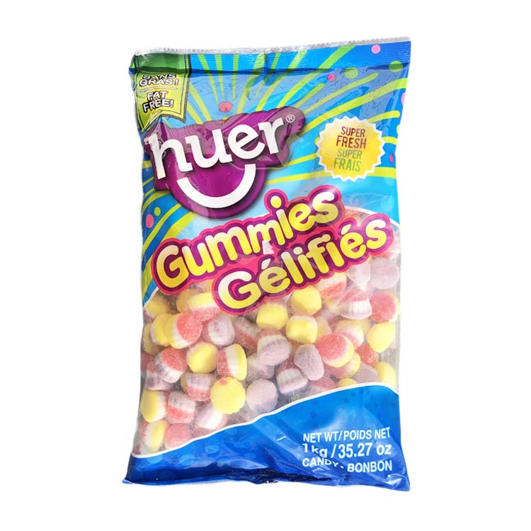 Huer Cup Cake Gummies Candy 1kg/2.2lb Bag