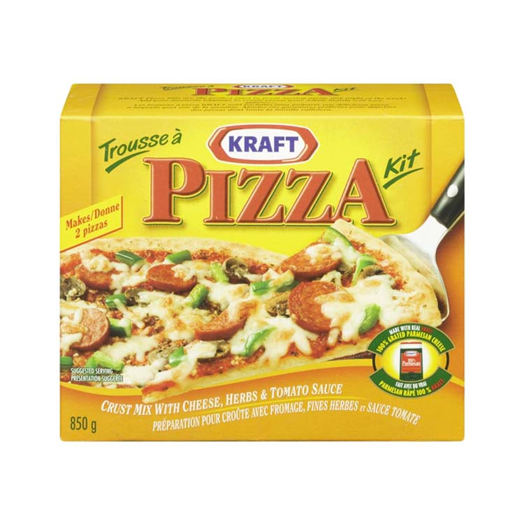 Kraft Pizza Kit 850g/30 oz Dinner Meal Box