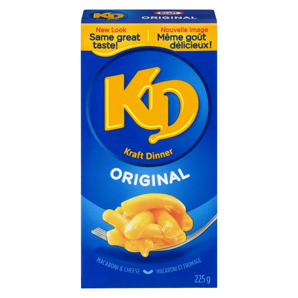 Kraft Dinner Original Macaroni & Cheese 200g/7oz Box