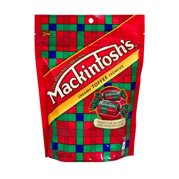 Mackintosh's Bite Size Toffee Candy 246g/8.7oz Bag