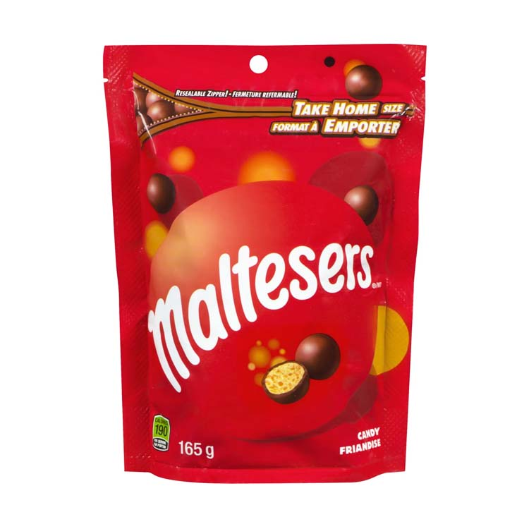 Maltesers Chocolate 165g/5.8 oz Resealable Bag