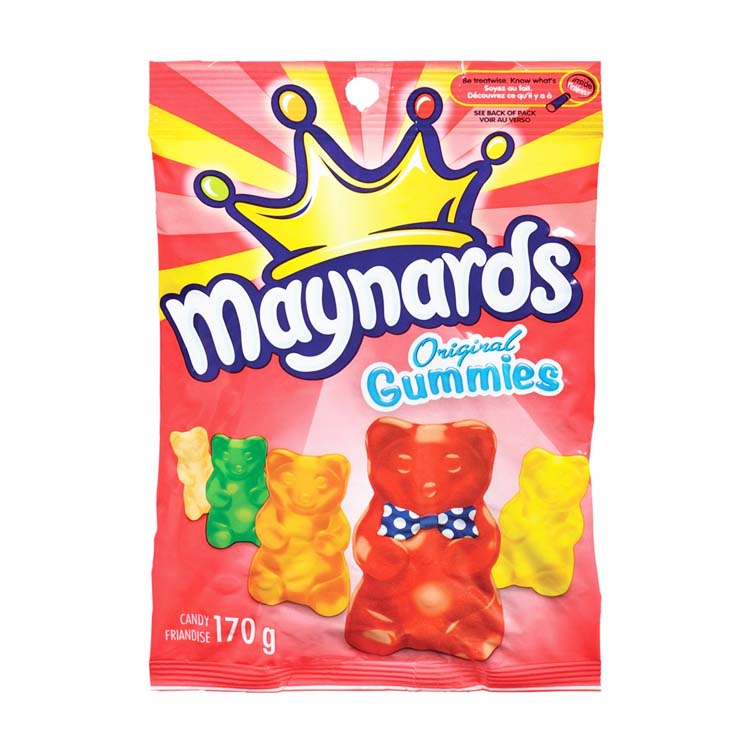 Maynards Original Gummies Bears Candy 170g/5.9 oz Bag