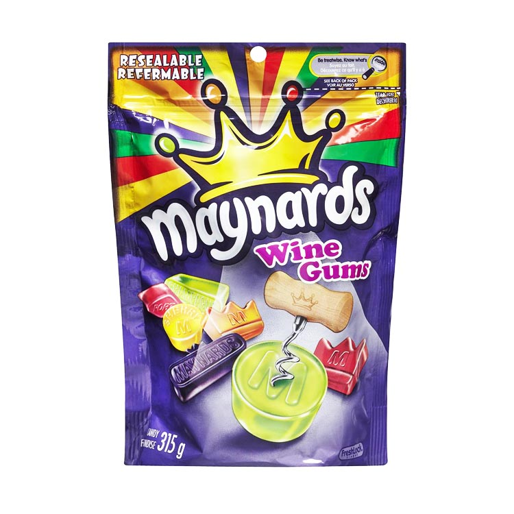Maynards Wine Gums 315g Resealable Bag