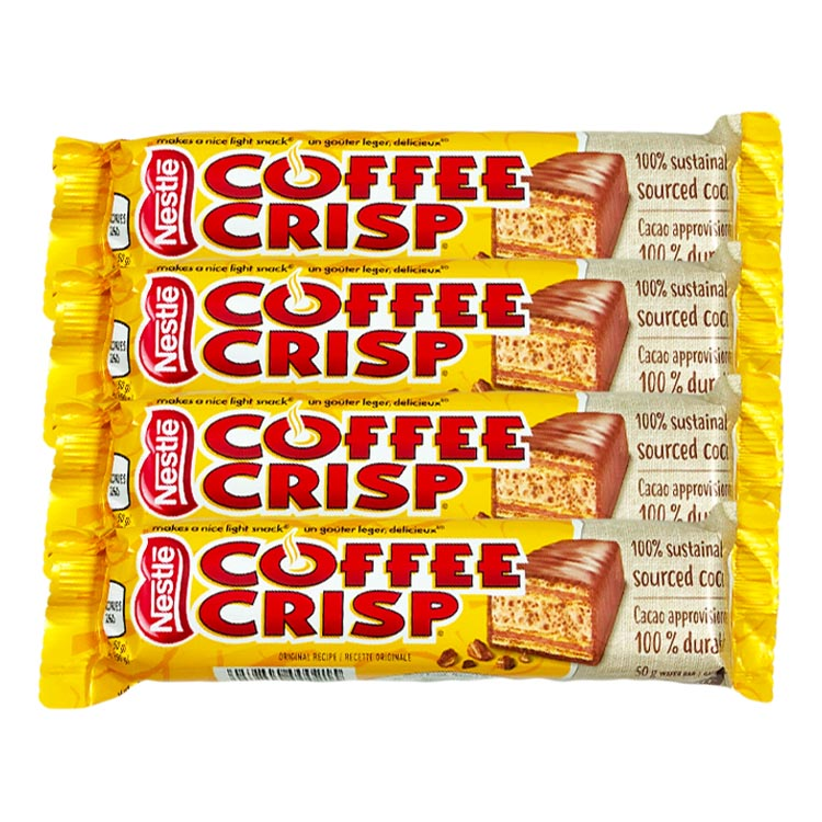 Nestle Coffee Crisp 50g Chocolate Candy Bar