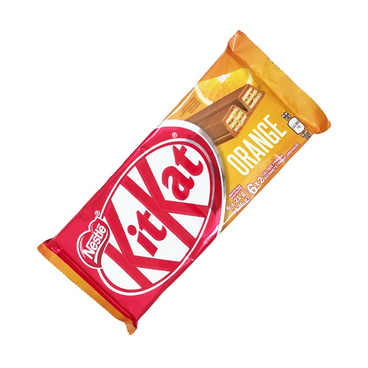 Nestle Kit Kat Orange Milk Chocolate 126g Bar
