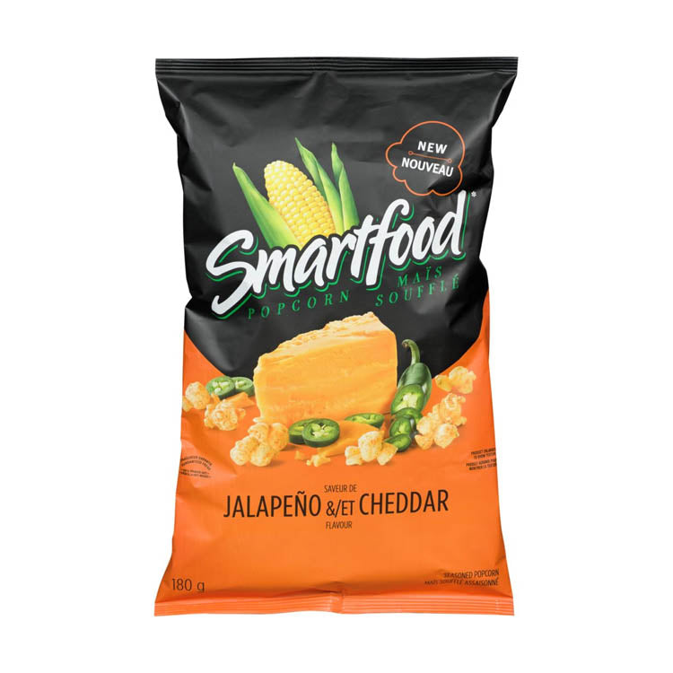 Smartfood Jalapeno And Cheddar Popcorn 180g/6.3oz Bag
