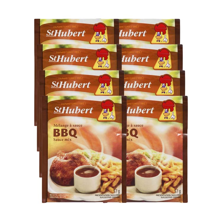 St Hubert BBQ Sauce Mix 57g/2 oz (8 Packets)