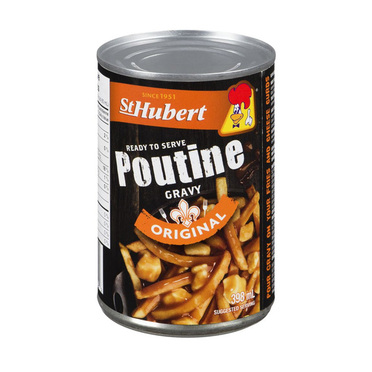 St Hubert Poutine Gravy Sauce 398mL/13.4oz Can